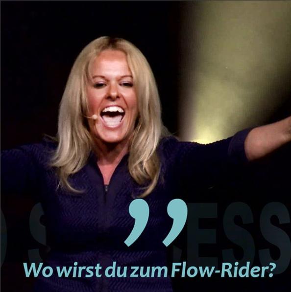 Wo wirst du zum Flow-Rider?