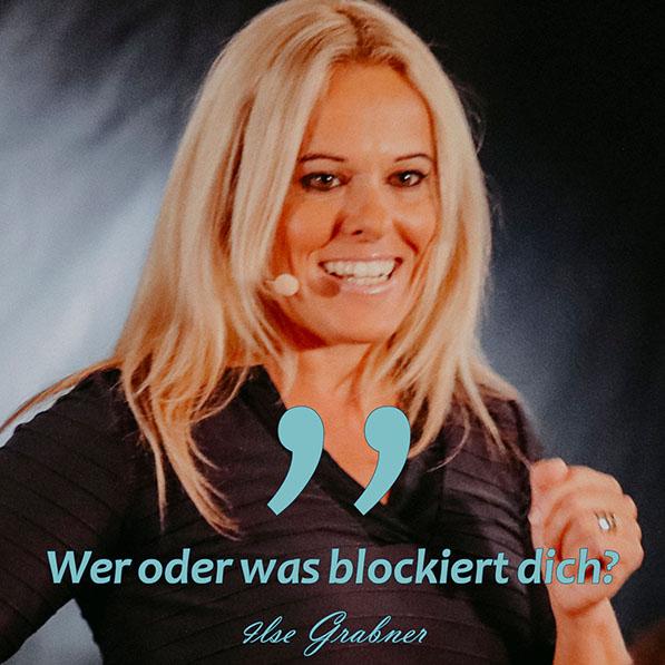 Wer oder was blockiert dich?
