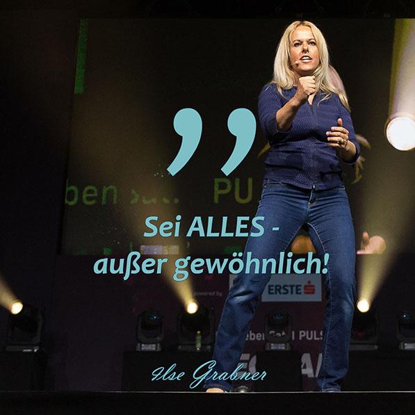 Persönlichkeitsentwicklung, Meditationen und Feuerläufe mit Ilse Grabner